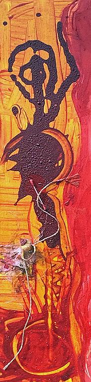 Feuermeer  20cm x 92cm